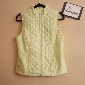 Weekends by Chico vireo green vest
